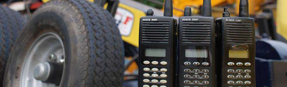 Auto Power Towing - Global Positioning System & Walkie-Talkie System.